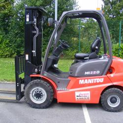 New Manitou Counterbalance