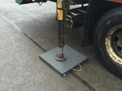 Stabiliser plate Outrigger foot pad